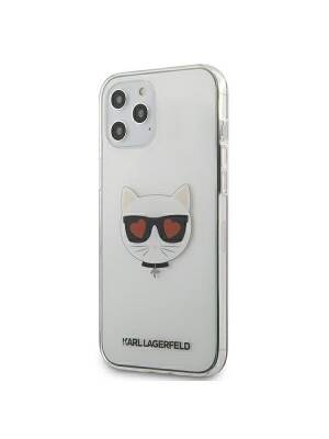 Husa Apple iPhone 12 Pro Max, Karl Lagerfeld, Choupette, Transparent